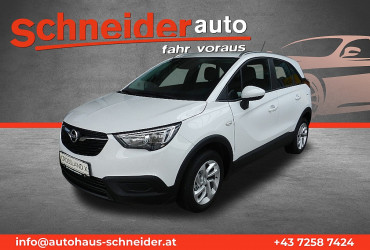 Opel Crossland X 1,2 Turbo ECOTEC Direct Injection Edition St./St bei BM || Autohaus Schneider in